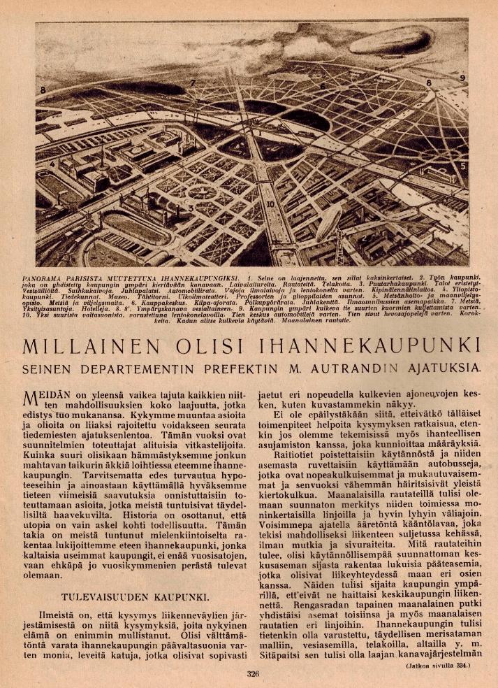 Historian havinaa: Motorisoidut liikennevälineet mullistivat kaupungit