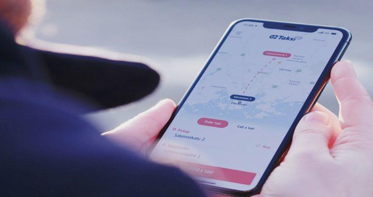 Suomen suosituin taksien määränpää on Helsinki-Vantaan lentoasema