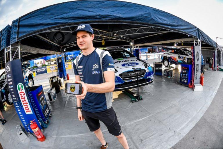 WRC: Suninen Meksikon rallin kakkosena aamupäivän jälkeen