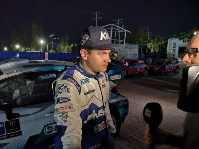 WRC: Tänak nousi viimeisillä pätkillä Sunisen ohi kakkoseksi