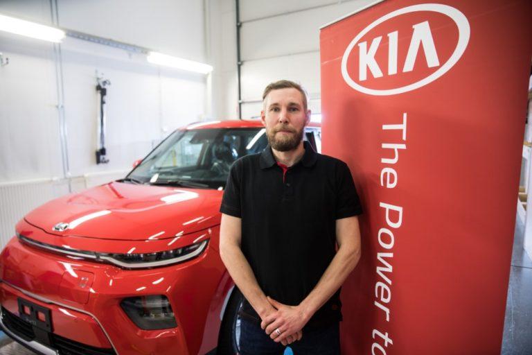 Suomen paras Kia-mekaanikko tulee Vihdin Autotalosta