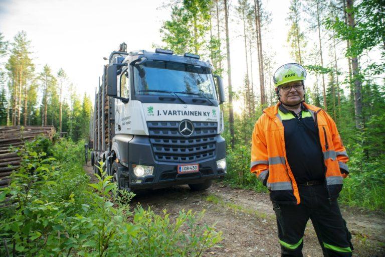 Maanteiden Sankarit -tosi-tv-sarja esittelee kuljetusalan ammattilaisten työrupeamia