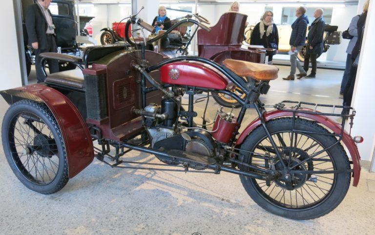 Päivän museoauto: Laurin & Klement LW -kolmipyörä 1911