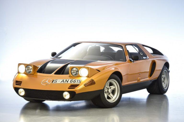 Päivän museoauto: Mercedes-Benzin wankelmoottorinen unelma-auto
