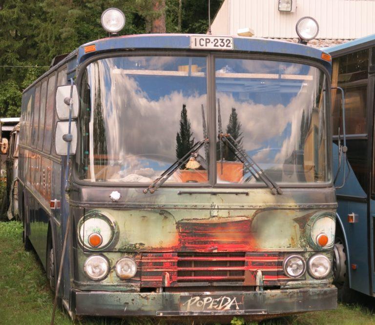 Päivän linja-auto: Popedan pitkään palvellut keikkabussi