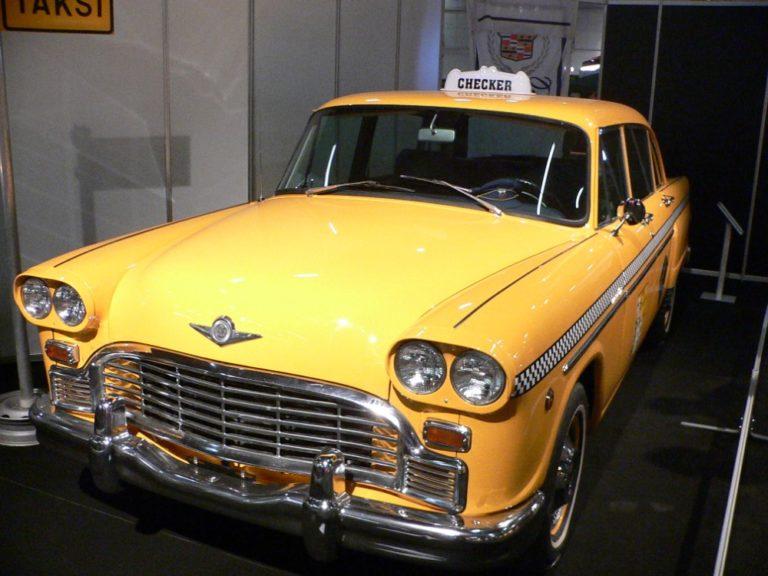 Historian havinaa: Yhdysvalloissa taksin piti olla iso ja erottuva