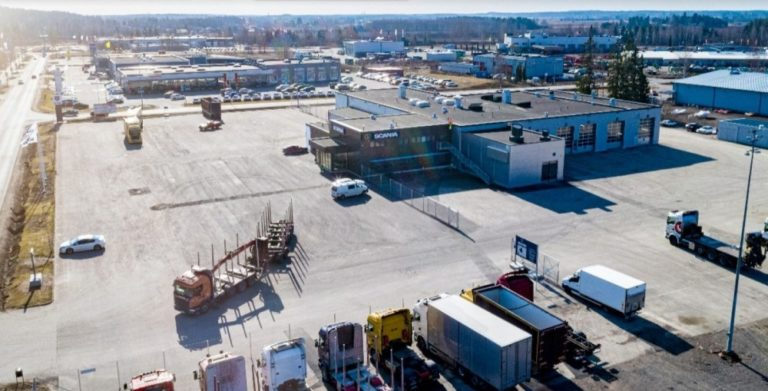 Kouvolan Scania-keskuksen laajennus valmis