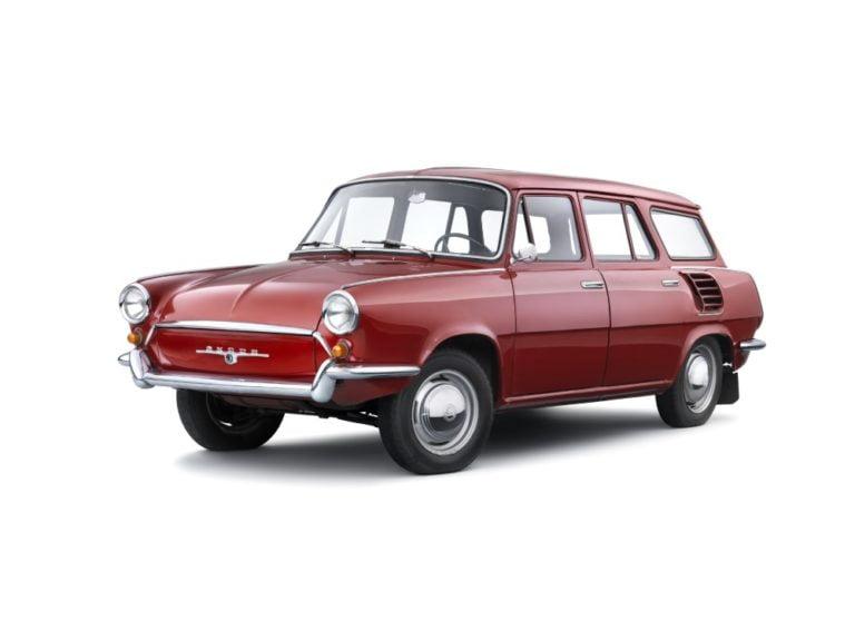 Päivän museoauto: Škoda 990 'Hajaja' -mallia tehtiin vain yksi kappale