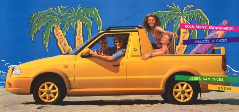 Päivän museoauto: Škoda Felicia Fun — hauska auto ihmisten vapaa-aikaan