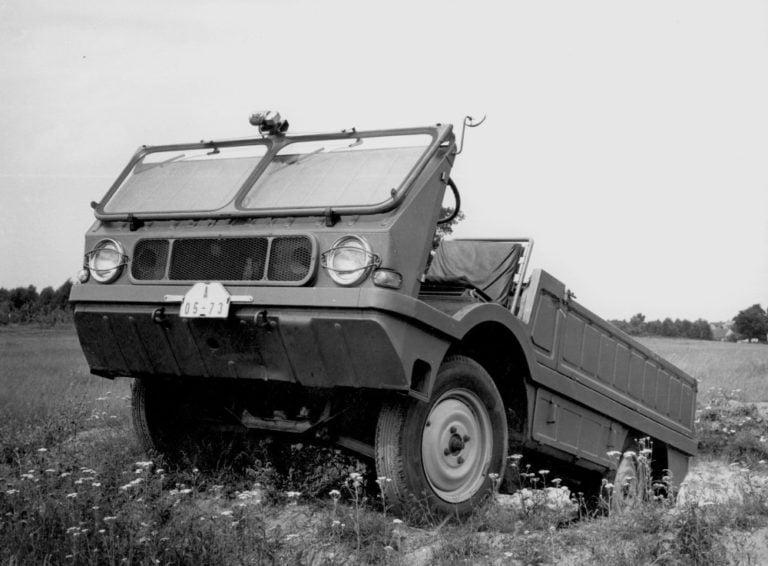 Päivän museoauto: Škodan pieni maastokuorma-auto Typ 998 Agromobil