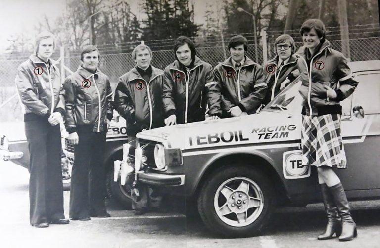 Päivän kuva: Teboil Racing Team 1975