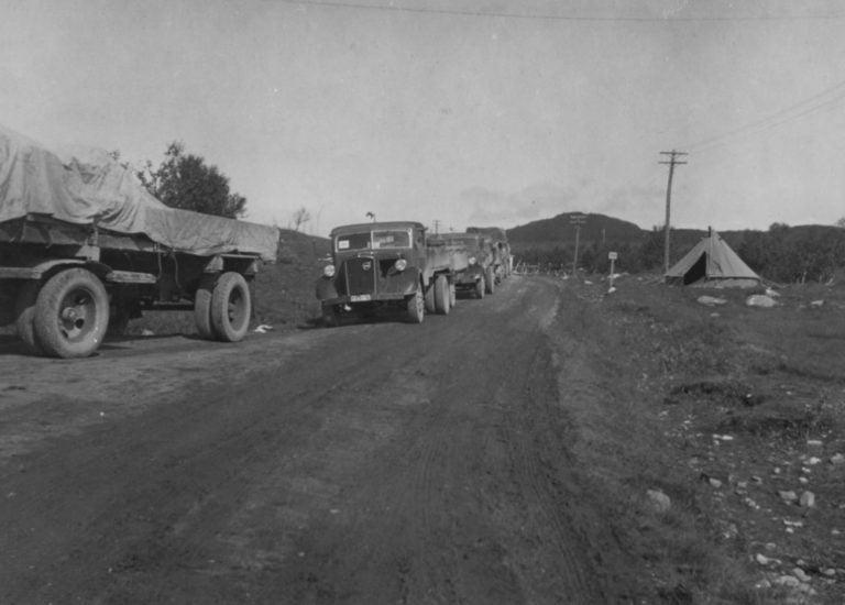Historian havinaa: 80 vuotta sitten käytettiin ensimmäistä kertaa kuorma-autoja laajassa mitassa ulkomaankaupan kuljetuksissa