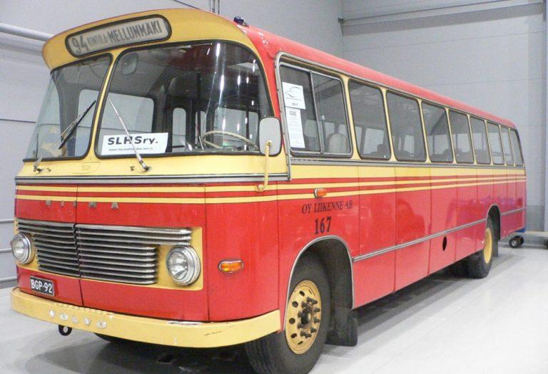 Päivän linja-auto: Volvo B635 Wiima M-64 1966