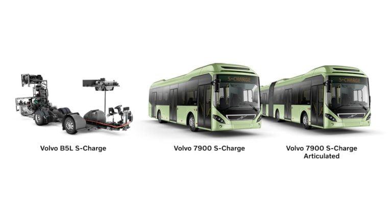 Volvon hybridibussilla voi nyt ajaa sähköllä pidemmälle ja lujempaa