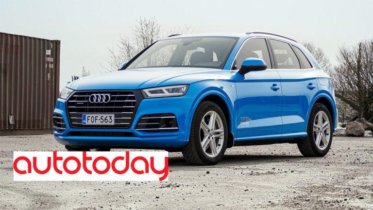 Autotoday testasi: Audi Q5 TFSI e quattro S tronic — tuttu tuttavuus sähköllä höystettynä