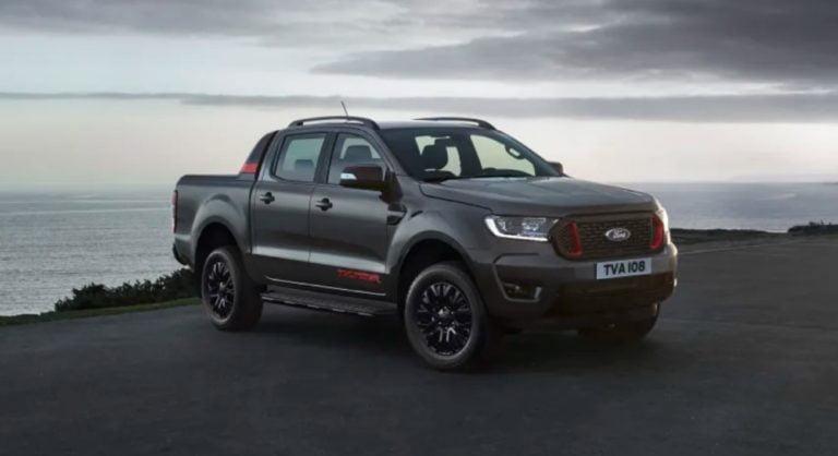Eurooppaan saadaan 4 500 uutta Ford Ranger Thunder -mallia