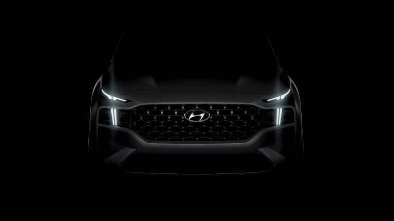 Tältä tulevan Hyundai Santa Fe -mallin keula näyttää