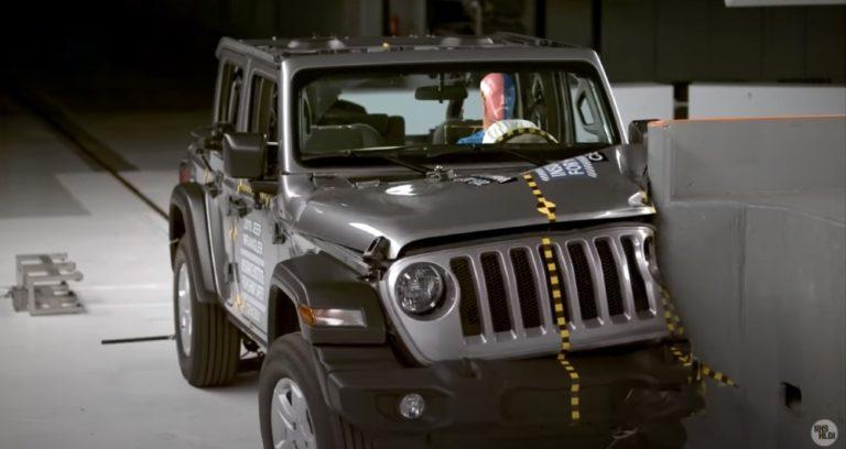Video: Katso Jeep Wranglerin yllättävä kolaritesti