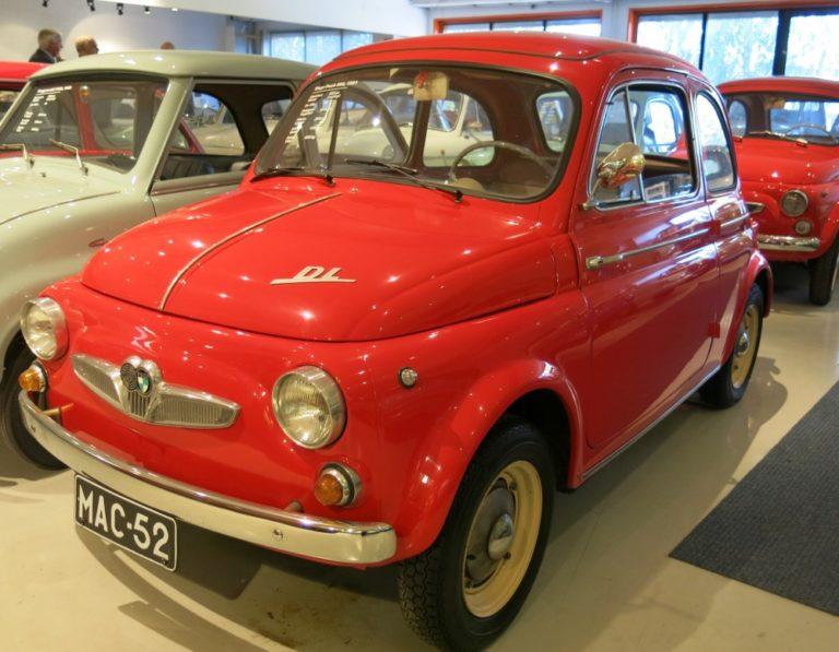Päivän museoauto: Steyr-Puch 500 DL 1961