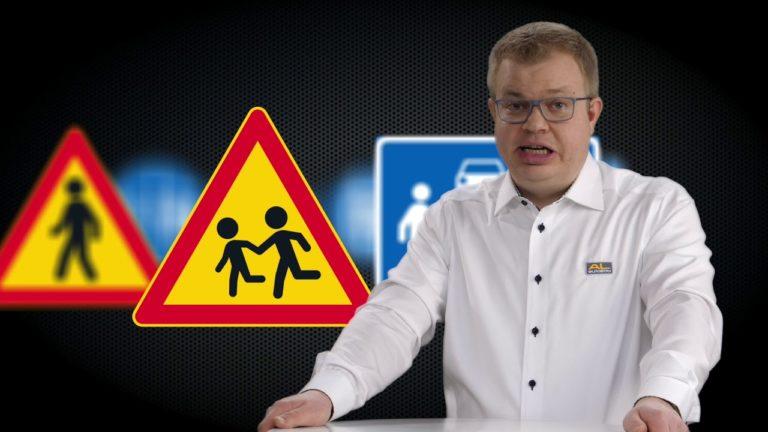 Tieliikennelaki 2020: Opettele uudet liikennemerkit — katso lyhyt video