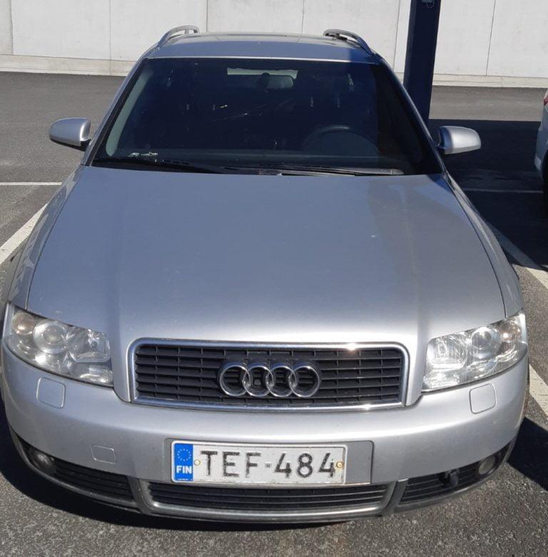 Poliisi kaipaa havaintoja kuvien Audista ja pariskunnasta