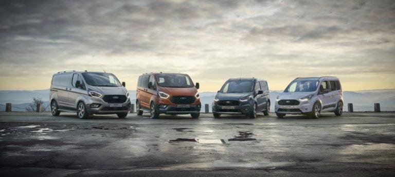 Ford Transit -perheeseen uudet Trail ja Active -mallit