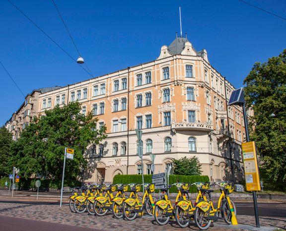 Helsingin kaupunkipyörät tulossa yhä laajemmalle alueelle