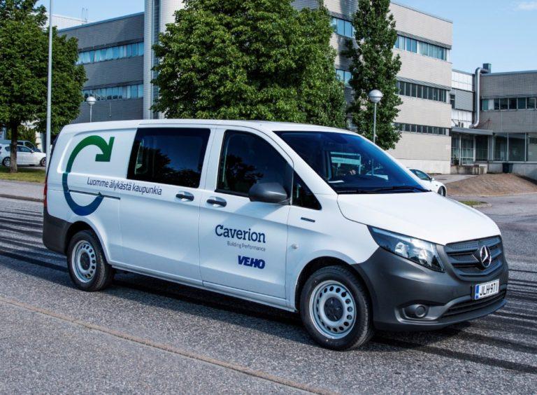 Suomessa testataan täyssähköistä pakettiautoa huoltotoiminnassa