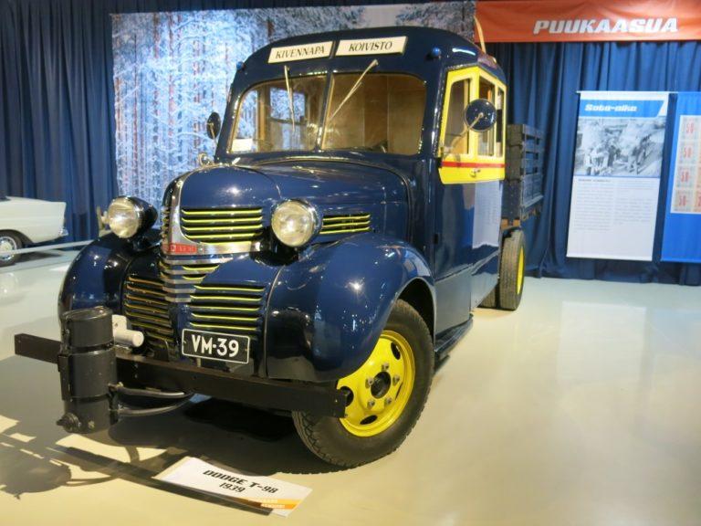 Päivän linja-auto: Dodge T-98 sekajuna 1939