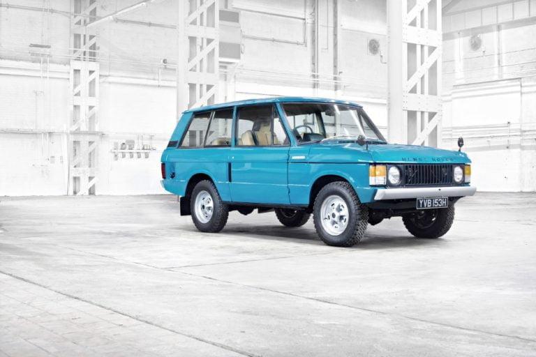 Range Rover -mallilla juhlavuosi — tarjolla erikoismalli
