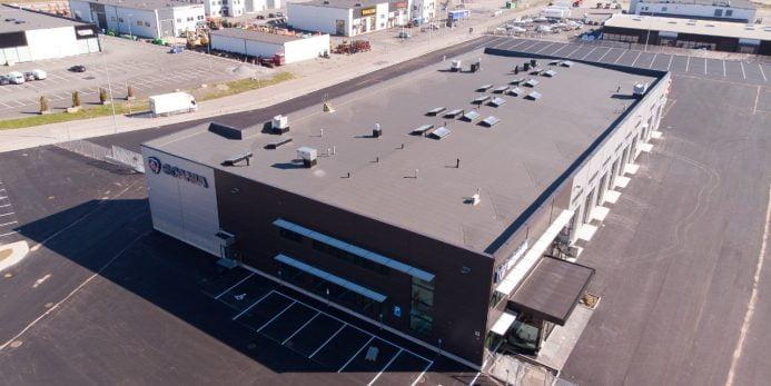Maanantaina avautuu uusi Scania-keskus Pirkkalassa