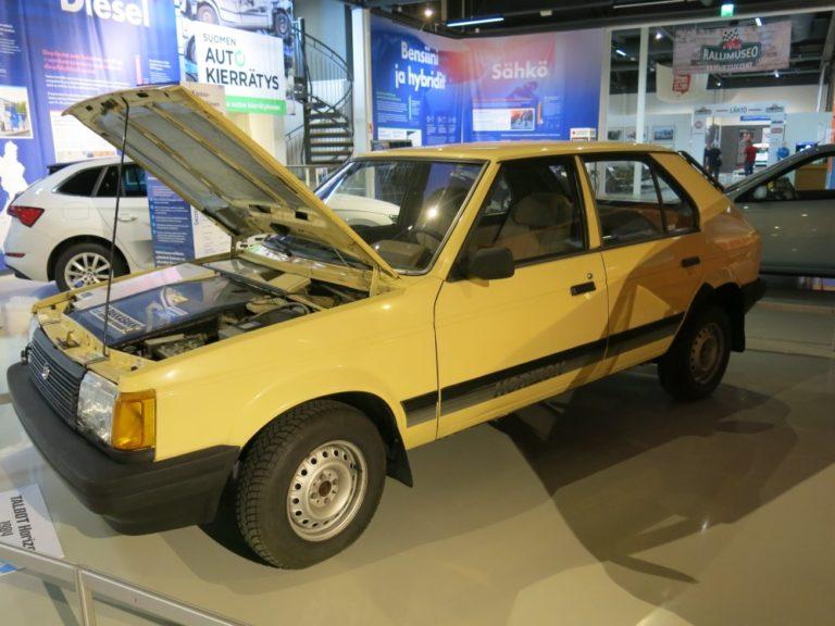 Päivän museoauto: Suomalaisen sähköauton prototyyppi — Talbot Horizon