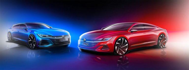 Volkswagen tarjoaa ensisilmäyksen uudesta Arteon-kaksikosta