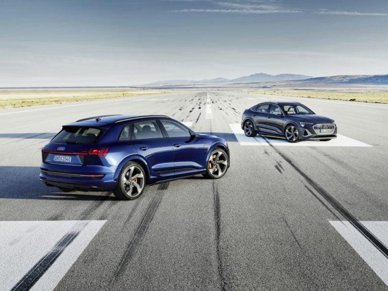 Audi tuo kaksi uutta sähköautoa, Audi e-tron S ja Audi e-tron S Sportback