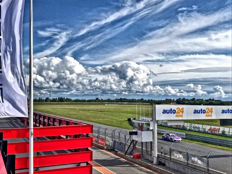 Porsche-sarjan kausi jatkui Virossa