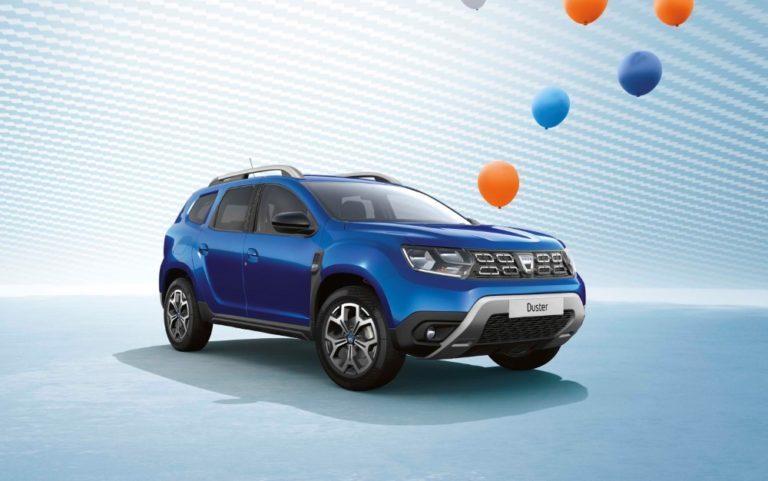 Dacia Dusterista nyt tarjolla kymmenvuotisjuhlamallit