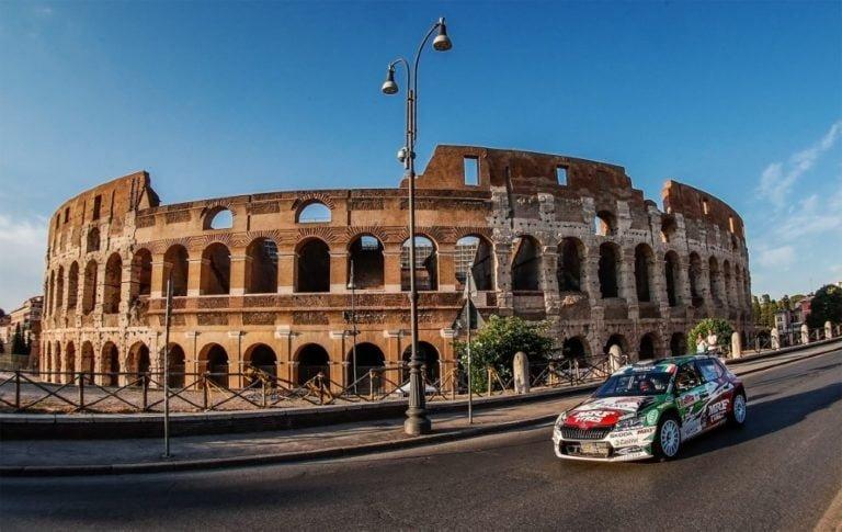 Rooman EM-ralli: Emil Lindholm kymmenes lauantain jälkeen