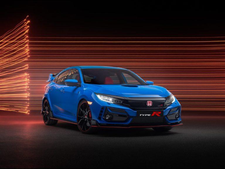 Honda Civicistä nyt tarjolla kaksi Type R -mallia