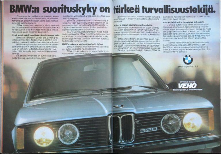 Päivän automainos: BMW:n suorituskyky on tärkeä turvallisuustekijä
