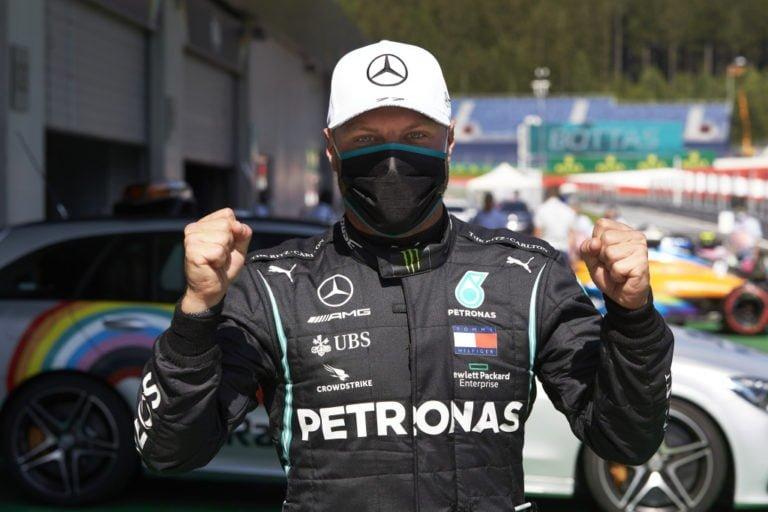 F1: Bottas jäi täpärästi kakkosruutuun