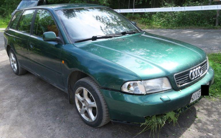 Poliisi kaipaa Varkauden henkirikokseen liittyen havaintoja tästä vihreästä Audista!