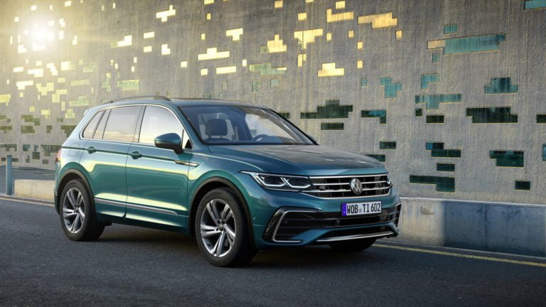 Volkswagen Tiguan sähköistyy
