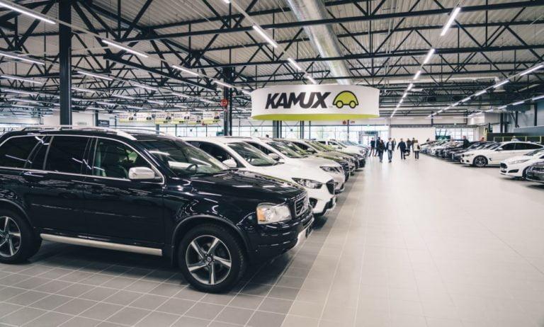 Kamux jatkaa laajentumistaan avaamalla suurmyymälän Göteborgiin