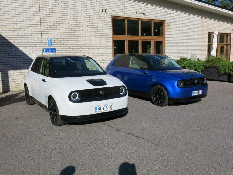 Hondan ensimmäinen sähköauto on nyt Suomessa