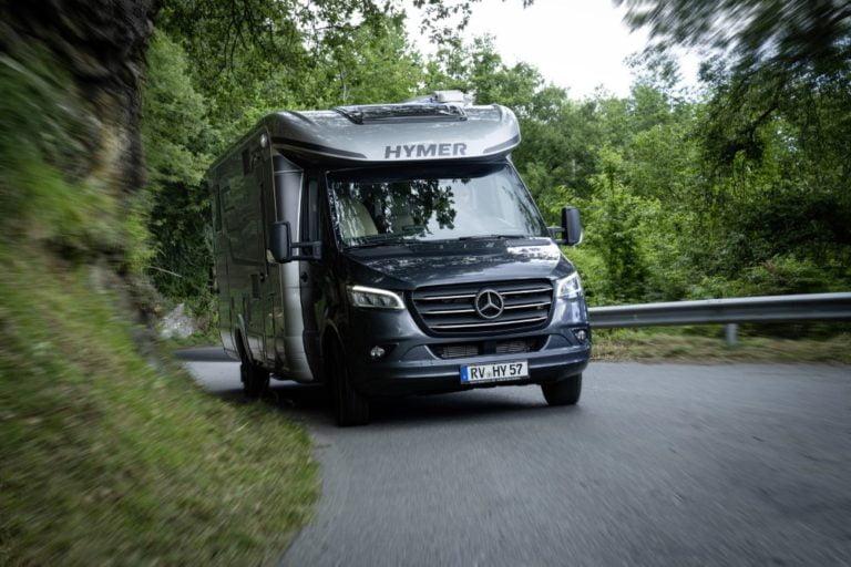 Matkailuautovalmistaja Hymerin Mercedes-tarjonta kasvaa