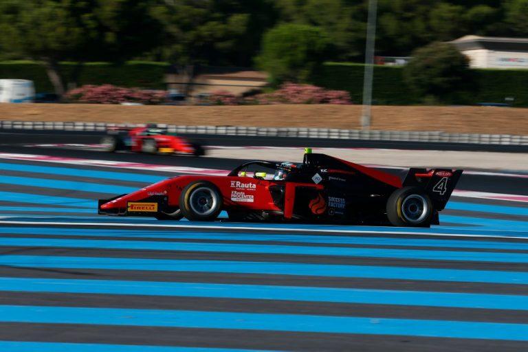 Formula 3: Suomalaistallille kaksi palkintokorokesijoitusta Ranskan Paul Ricardilla