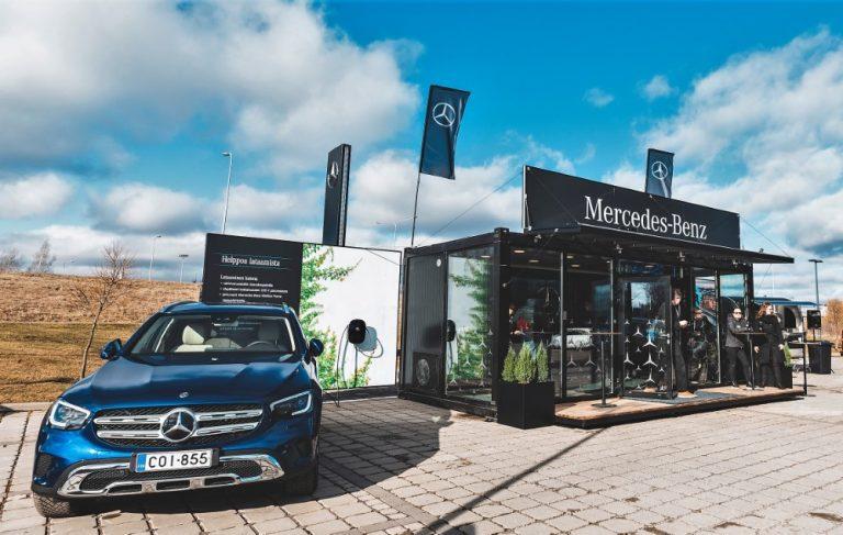 Mercedeksen pistokehybridit koeajettavissa 25 paikkakunnalla