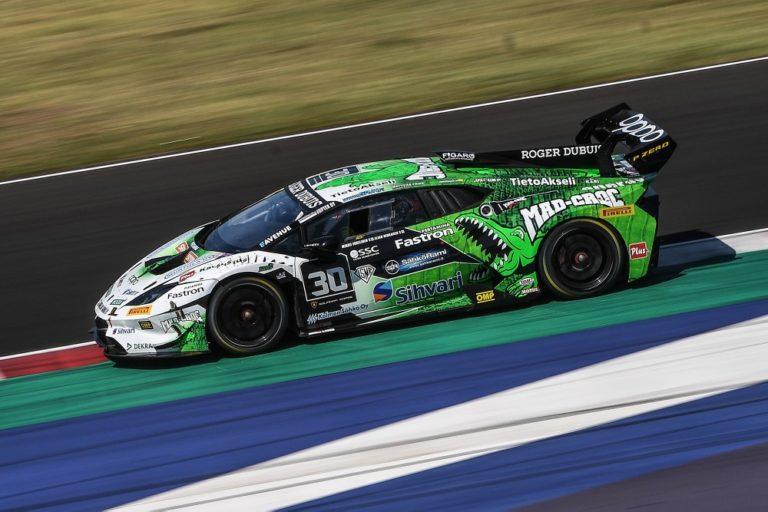 Lamborghini-sarja: Elias Niskanen ja Mikko Eskelinen kaksi kertaa neljänneksi Italian Misanossa