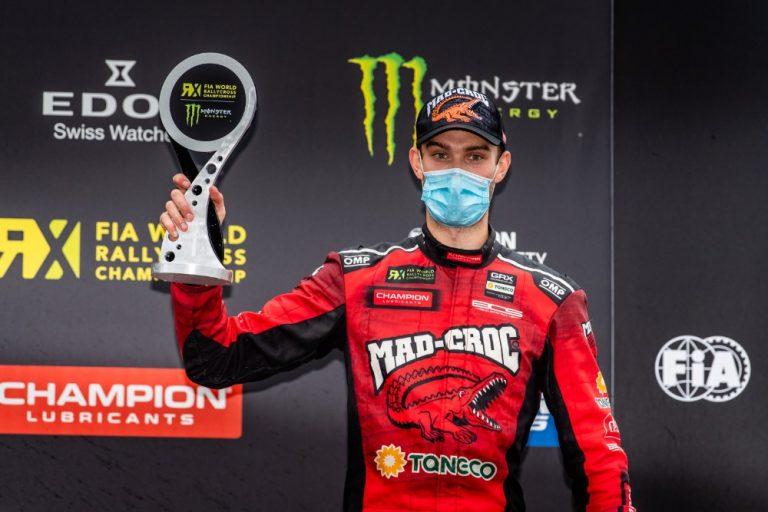 Rallicross: Niclas Grönholm ajoi voittoon MM-sarjan Kouvolan sunnuntain kisassa