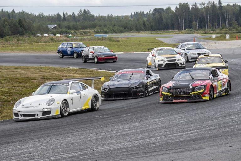 Rata SM -sarjan kahden viikonlopun kausi avattiin Botniaringillä